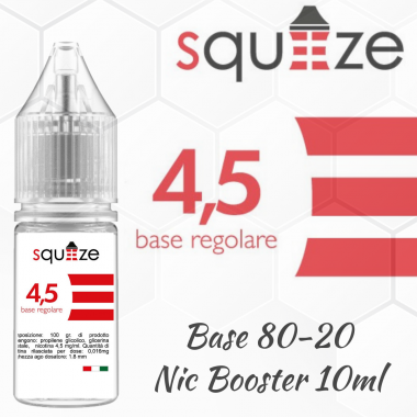 liquido sigaretta elettronica base americana 4.5 mg/ml