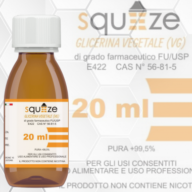 Glicerina Vegetale 20ml
